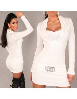 Oblekica Audiana, bela