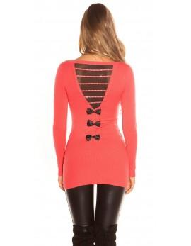 Oblekica tri pentljice, koralna