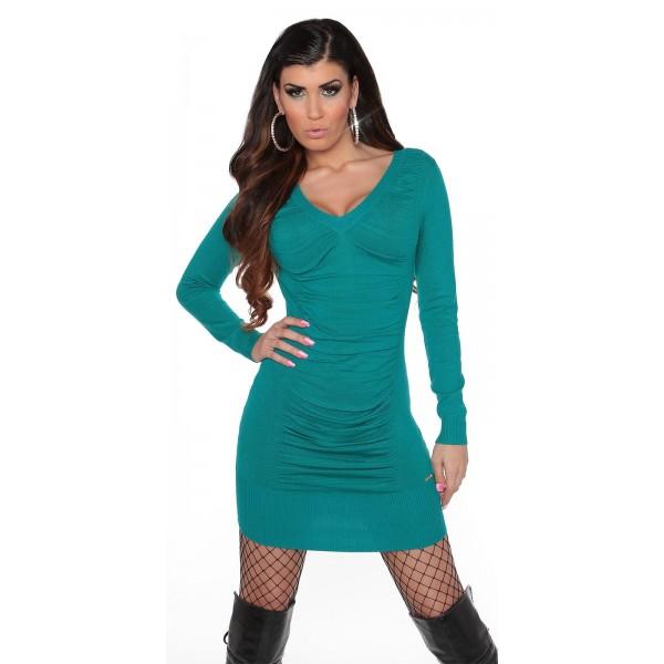Oblekica spredaj nabrana, več barv