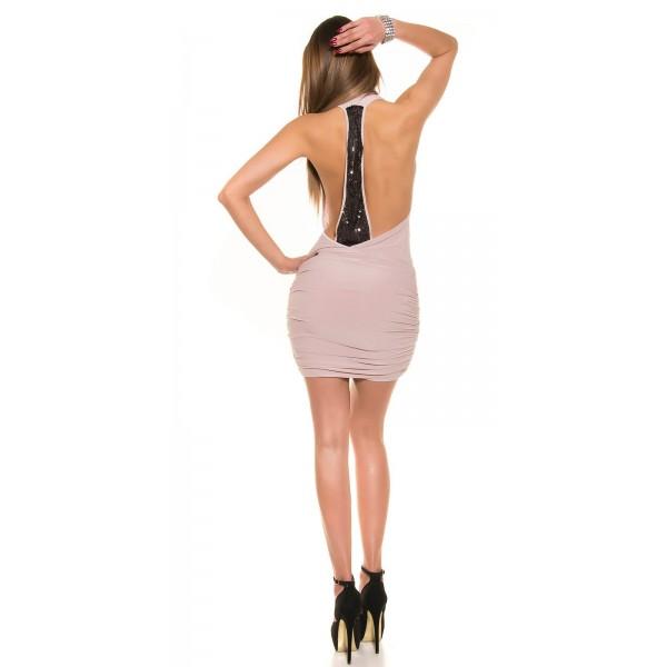 Mini oblekica s črnimi luskami na hrbtu, več barv