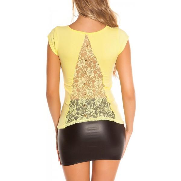 Majica T-shirt 3-je gumbki