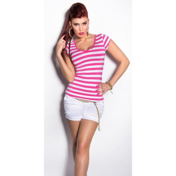 Majica T-shirt strips, več barv