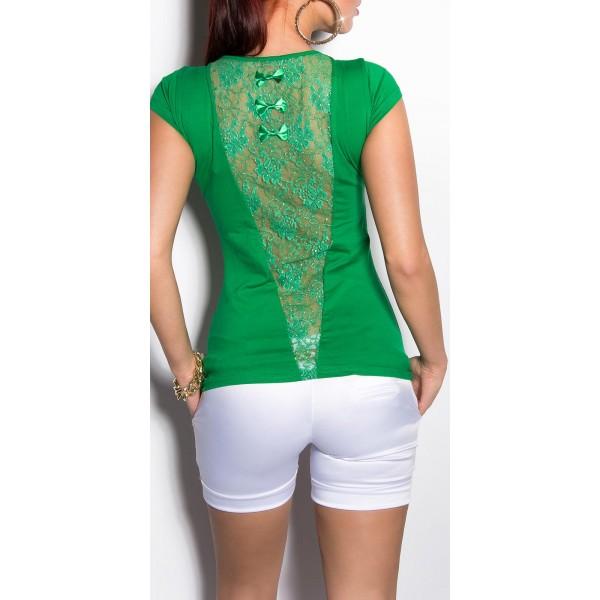 Majica T-shirt V-back, več barv
