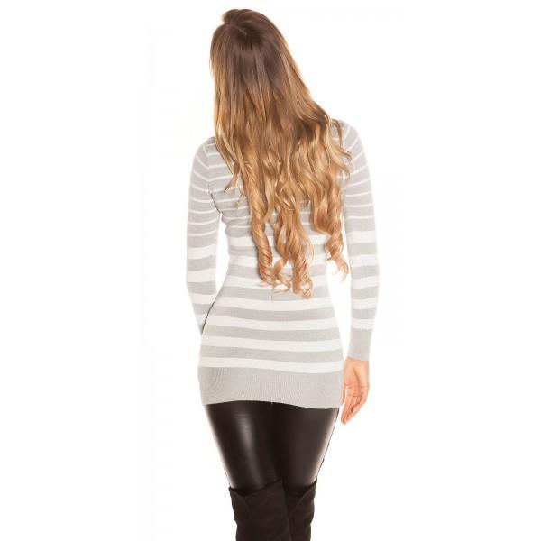 Dolg pulover Najša, več barv