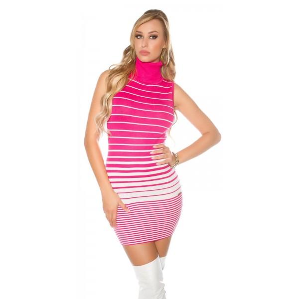 Oblekica puli s črtami, več barv