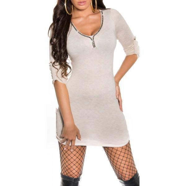 Oblekica Jasmina, bež