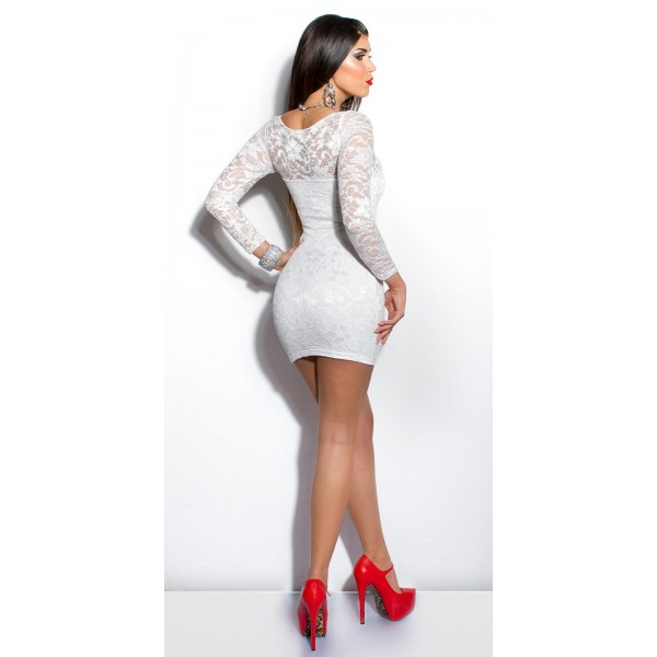 Bela oblekica Moja, velikost  M ali L