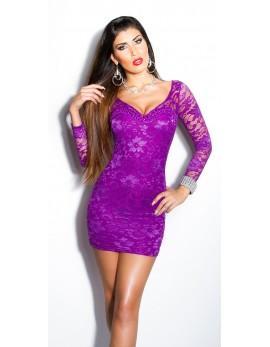 Oblekica Moja, vijolična