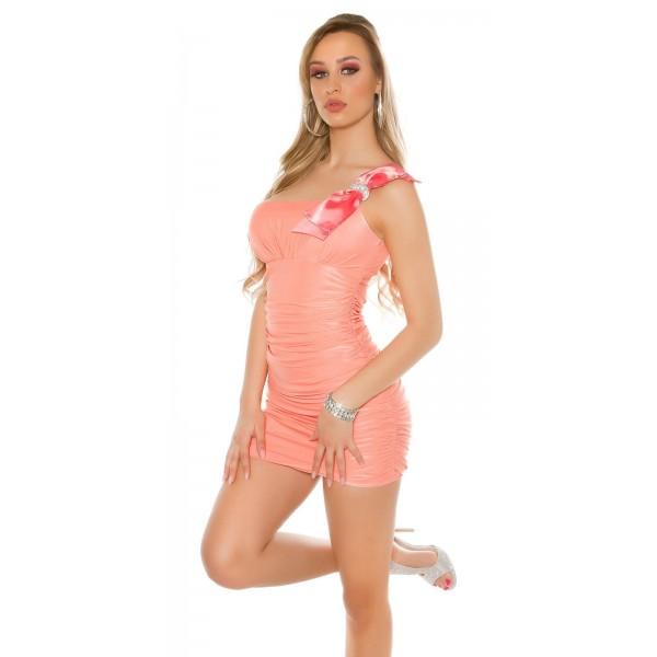 Mini oblekica pentlja na naramnici, več barv
