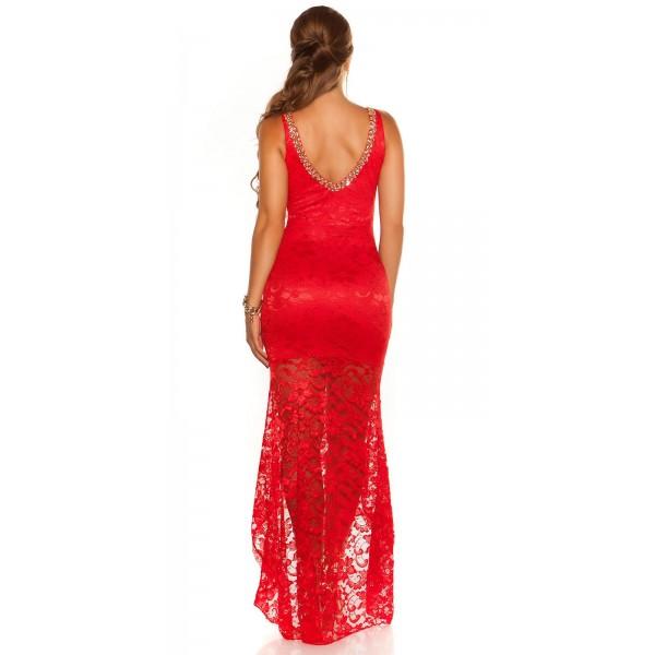 Obleka Tadeja - rdeča
