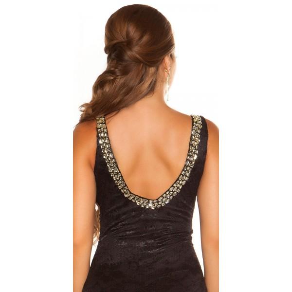 Obleka Tadeja - črna