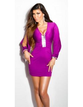 Obleka Gracia, vijolična