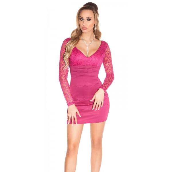 Mini oblekica z dolgimi rokavi Zoja, več barv