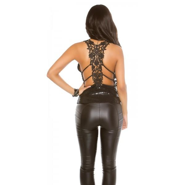 Party top Glam, 2 barvi