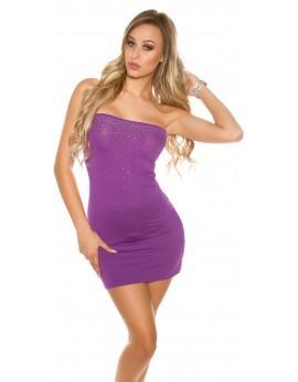 Mini oblekica Neli, vijolična