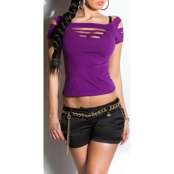 Majica s kratkimi rokavi, Dancetop
