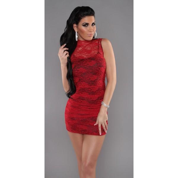 Obleka Red Rose