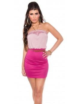 Poletna oblekica Mija, roza