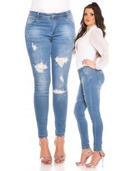 Jeans za močnejše boke, Aurelia, velikost 40