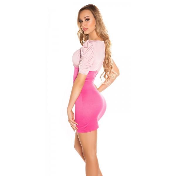Poletna obleka Neisha, roza