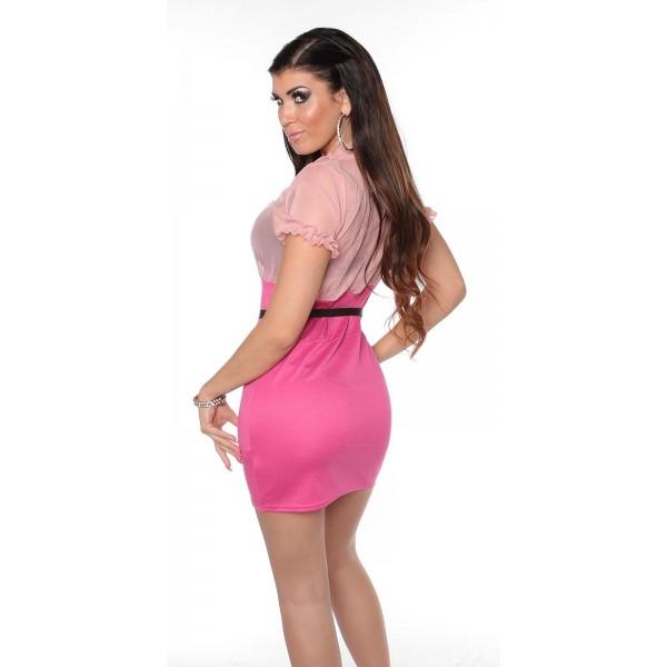 Poletna obleka Lana, roza