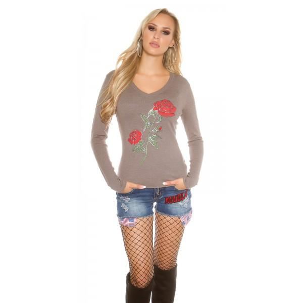 Majica Rose, cappucino