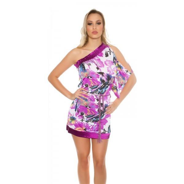 Poletna obleka Rosie, vijolična