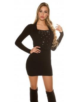 Obleka Angela, črna