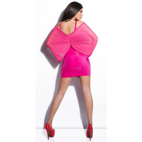 Mini obleka Neja, več barv