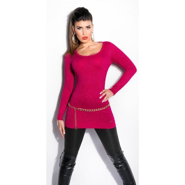 Svetlikajoči pulover Alena, več barv