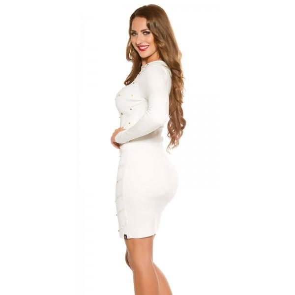 Obleka Gala, bela
