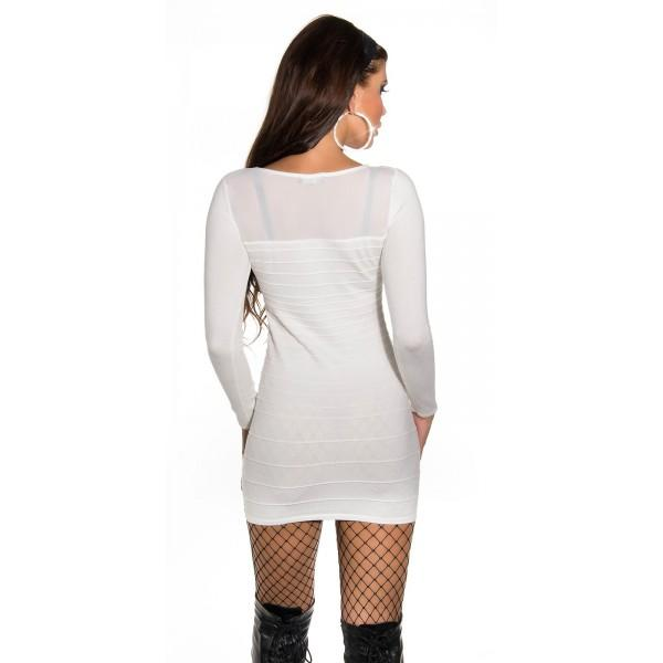 Oblekica Zapeljivka, bela