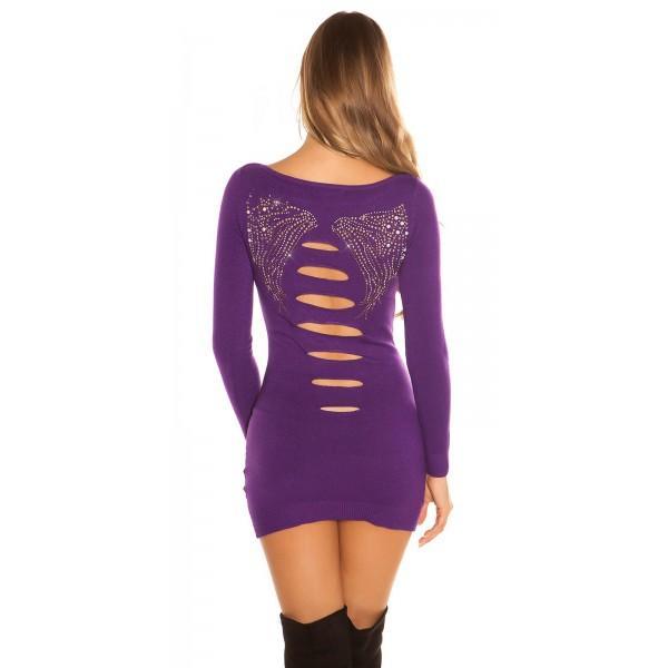 Dolg pulover MyMistery, več barv