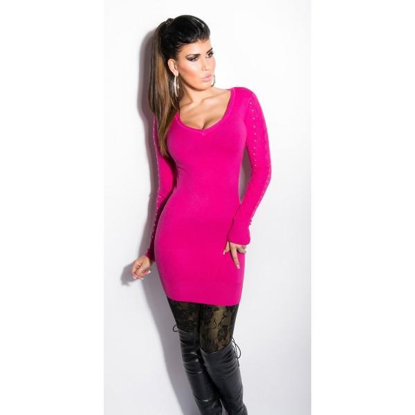 Dolg pulover Aneja, več barv