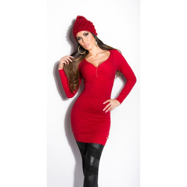 Dolg pulover Katja, več barv