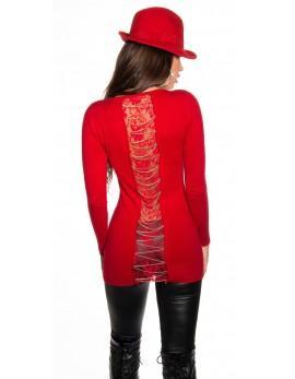 Daljši pulover Chains, več barv