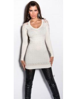 Daljši pulover Milena, več barv