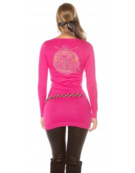 Dolg pulover Simbesija, več barv