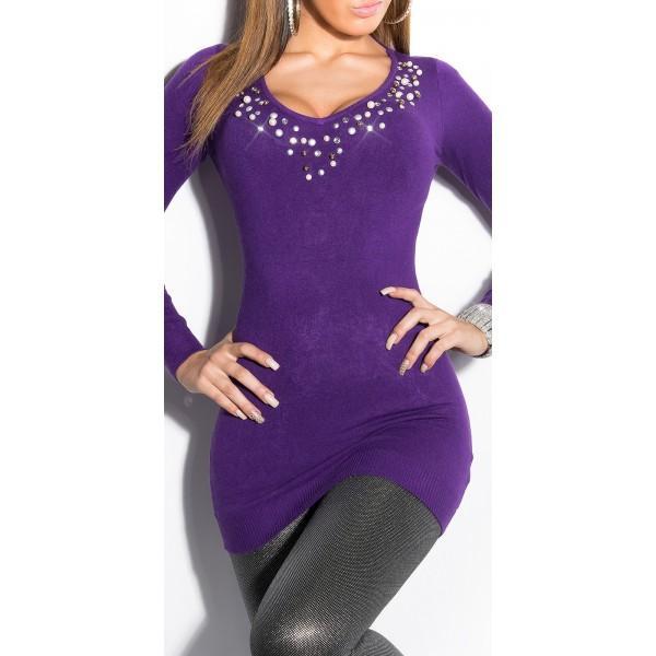 Daljši pulover Melita, več barv