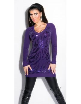Dolg pulover Meta, več barv