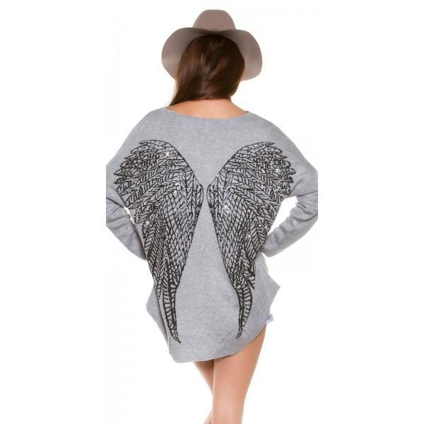 Pulover Angel wings