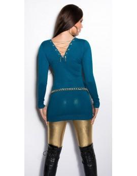 Daljši pulover Golden chain, več barv