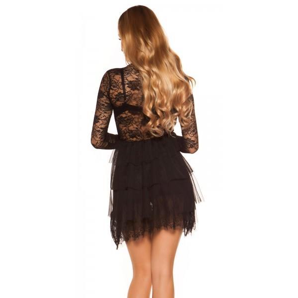 Obleka Dreams, črna